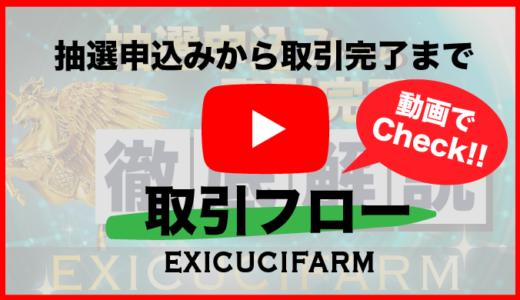 [動画でCheck!!]エクスカシーファーム抽選申込から取引完了までを徹底解説!